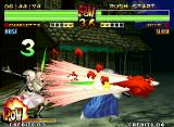 Samurai Shodown IV: Amakusa's Revenge Neo Geo When executed with a full POW bar, Charlotte's high range move Violent Lunge will connect multiple hits.
