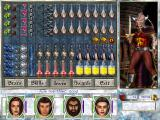 Might and Magic VII: For Blood and Honor Windows Check out the characters' individual inventories.
