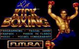 Panza Kick Boxing DOS Intro Screen 01
