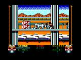 Shadow Dancer Amstrad CPC Killed by a gunman