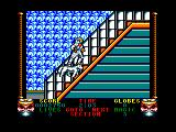 Shadow Dancer Amstrad CPC Climbing steps to the plane