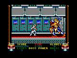 Shadow Dancer Amstrad CPC Boss is killed