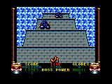 Shadow Dancer Amstrad CPC Bonus Stage. Kill all ninjas before they reach the lowest platform