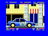 E-SWAT: Cyber Police Amstrad CPC Arriving in your police vehicle
