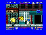 E-SWAT: Cyber Police Amstrad CPC Watch out for the fireball