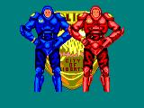 E-SWAT: Cyber Police Amstrad CPC After Level 3, you are equipped with the robo-suit