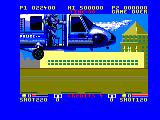 E-SWAT: Cyber Police Amstrad CPC Arriving in a chopper