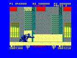 E-SWAT: Cyber Police Amstrad CPC Crawling around in the robo-suit