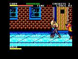 Final Fight Amstrad CPC The beginning
