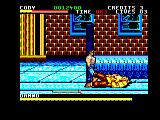 Final Fight Amstrad CPC Damnd is down
