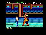 Final Fight Amstrad CPC Subway