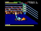 Final Fight Amstrad CPC Sodom is down