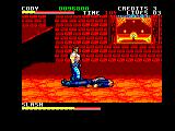 Final Fight Amstrad CPC Slash is down