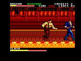 Final Fight Amstrad CPC Inside a factory