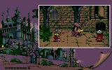 Iznogoud Atari ST In the dungeon with the mad artist and the executioner.