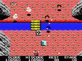 Knightmare MSX Bats and clouds are some of the enemies you have to face