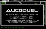 Autoduel Atari ST Title screen