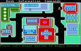 Autoduel Atari ST In the city