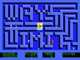 Midnight Building MSX Take a good look at the complete labyrinth.