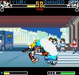 King of Fighters R-2 Neo Geo Pocket Color With a tiny amount of energy, Shingo tries to dodge Yuri's Saiha at all costs: can this be possible?