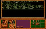Dragonflight Atari ST Speaking with villager