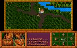 Dragonflight Atari ST Leaving village