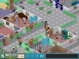Theme Hospital DOS VIP in the building.
