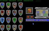 Bloodwych Atari ST Selecting champion