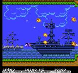 Parodius NES Shoot the birds for power-ups.