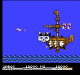 Parodius NES A mid-level boss.