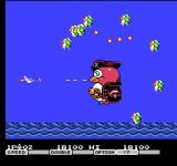 Parodius NES End of level boss of level one.