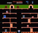 Mappy NES You are chased by cats