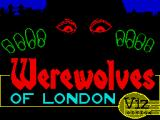 Werewolves of London ZX Spectrum Loading screen