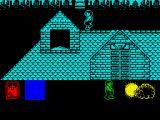 Werewolves of London ZX Spectrum Roof-walking