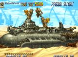 Metal Slug 5 Neo Geo Arriving in a desert, Fio meets two tied hostages on the Sandmarine: it's time to finish Mission 4!