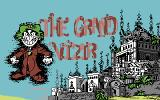 Iznogoud Commodore 64 Iznogoud title screen, oddly titled 'The Grand Vizir' in the C64 version.