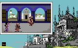 Iznogoud Commodore 64 Iznogoud meets the Fairy Olé and gets the Slipper, while the Executioner paces.