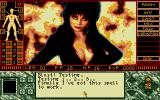 Elvira II: The Jaws of Cerberus Atari ST Elvira in all her beauty