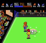 Ring King NES Fight. Don't circle around.