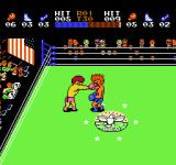 Ring King NES That's a hit in the face.