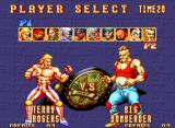 3 Count Bout Neo Geo It's time to choose your favorite wrestler!