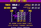 Street Racer Genesis How I fared lap by lap