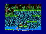 Contra Amstrad CPC In the water
