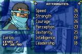 Rebelstar: Tactical Command Game Boy Advance Attributes