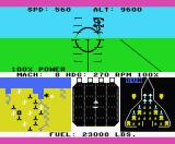 F-15 Strike Eagle MSX The main target is the represented on the map as a small square (MSX2).