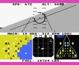 F-15 Strike Eagle MSX Don't run out of fuel (MSX2).