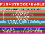 F-15 Strike Eagle MSX Mission Select (MSX1)