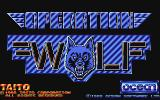 Operation Wolf Atari ST Title screen