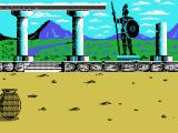 Hercules: Slayer of the Damned! MSX An ancient Greek temple.