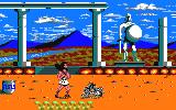 Hercules: Slayer of the Damned! Amstrad CPC Let's fight the first skeleton in an ancient Greek temple.